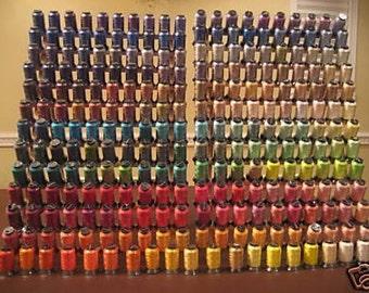 HUGE SET  260 Spools Embroidery Machine Thread
