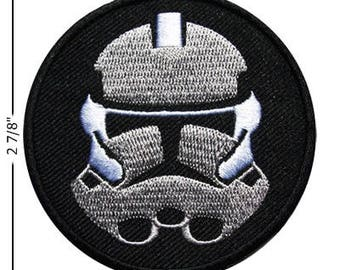 Star Wars Clone Trooper Embroidered Iron On Patch