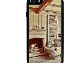iPhone 5 5s 6 6s 6+ 6s+ SE 7 7+ iPod 5 6 Phone Case, Reading Room Image Design, Library, Plus