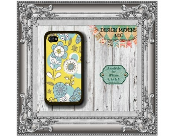Southern Floral iPhone Case, Spring iPhone Case, Flower iPhone Case, iPhone 4, 4s, iPhone 5, 5s, iPhone 5c, iPhone 6, 6s, 6 Plus