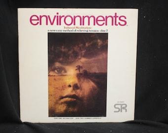 Environments Induced Meditation Disc (LP) 7 - Intonation & Summer Cornfield - Syntonic Research Inc