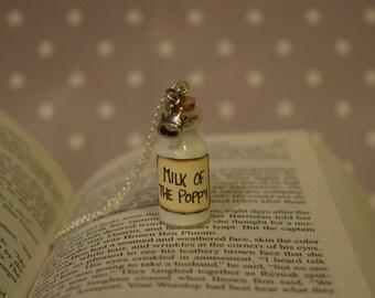 Milk of the Poppy - Game of Thrones Necklace