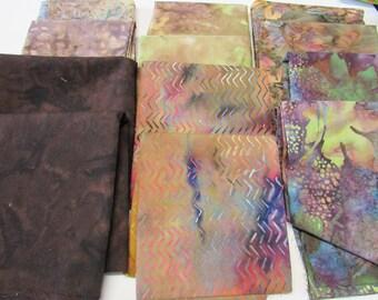 Fat Quarter Batik Quilting Fabric