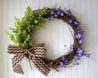 Spring wreaths. wreath for summer. summer door wreath. spring decor, wreath for spring, door wreath, front door wreath