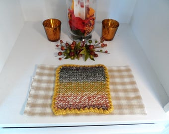 Lion Brand Wool Ease Thick & Quick Potholders