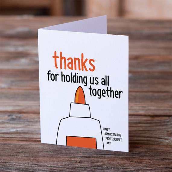 Administrative professionals day greeting card thanks for m4hsunfo Image collections