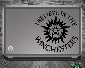 I believe in the Winchesters Anti-Possession Decal