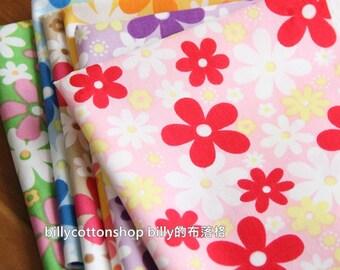 SALE)w578 - scrap bundle - floral- 6 pieces x (28cm x 30cm) + 2 free cotton tape