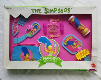 The Simpsons: Marge's Beauty Bag Set by Mattel 1990