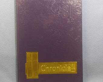 1981  Chronicle Christian Brothers High School Yearbook, Memphis, Tn