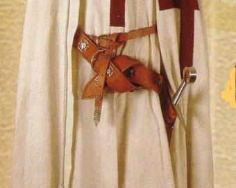 New Medieval Renaissance Templar Knight Robe Tunic Costume
