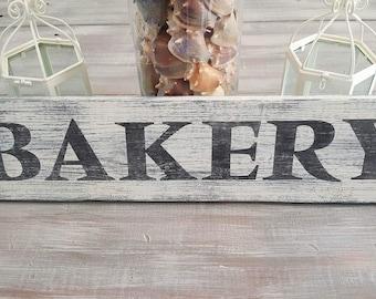 Bakery wood sign, farmhouse decor, farmhouse sign, rustic sign, bakery decor
