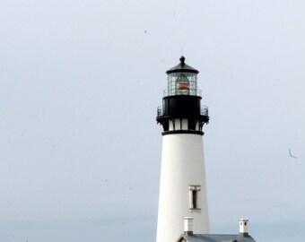 Lighthouse, Coast, Stormy