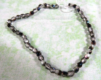 1 Strand 3mm Fire Polished Czech Beads (B401L)