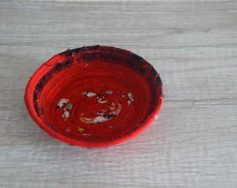 Mini fabric basket