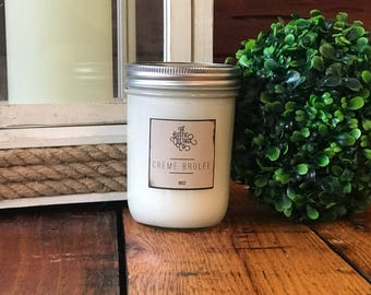Creme Brulee 16oz Woodwick Candle