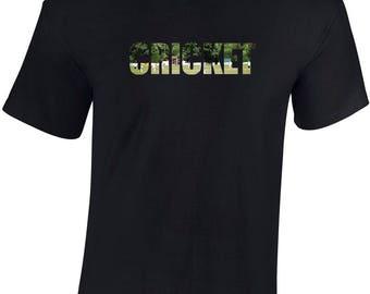 CRICKET inspired T-Shirt Funny Gift CRICKETER T-shirt CRICKETING Birthday Mens Original Cool