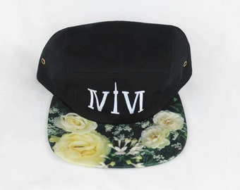 Funky Floral and Fresh! Toronto 416 Five Panel Floral Hats! YYZ, GTA, OVO, 416, Area Code, Flowers, The 6ix, T Dot, ivivi, Roman Numerals!