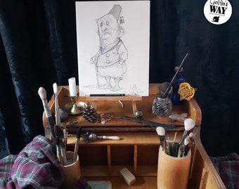 ORIGINAL ART - Gentlegoblin