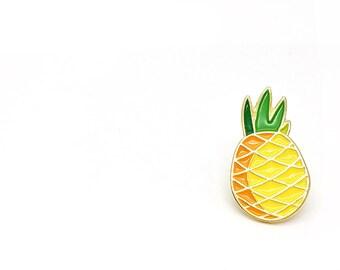 Lapel Pin - Passionate Pineapple