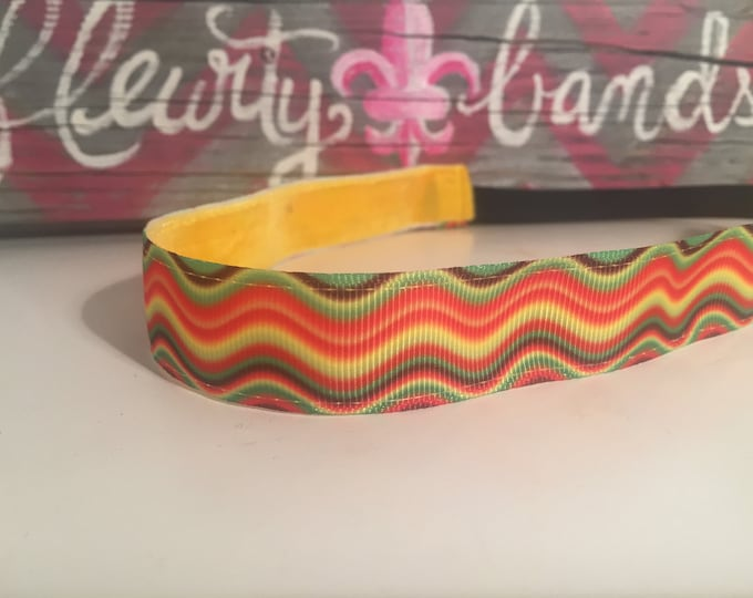 Nonslip Headband Retro Waves