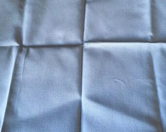 Blue Cross Stitch Fabric