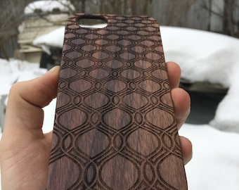 Wood Case for iPhone Pattern v.6