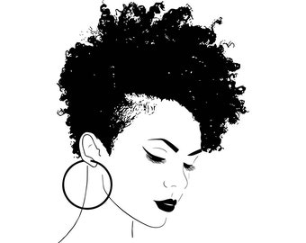 Black Woman Svg Etsy