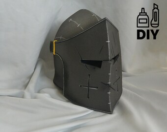 DIY For Honor: Warden helmet templats for EVA foam