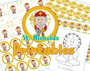St. Nicholas Day Printables PDF