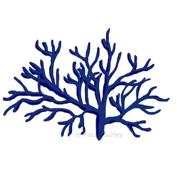 navy coral style 1 original art download 2 files navy rh etsy com corel clipart library corel clip art free