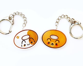 "Animal Donuts 1.5"" Acrylic Charm"