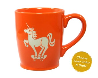 Unicorn Mug - Choose Your Cup Color