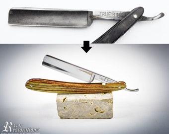 Complete premium razor restoration service