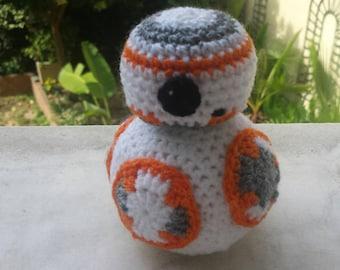 BB8 star wars amigurumi wool