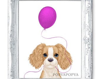 Dog Art Dog Painting Dog Print, Dog Nursery Painting Animal Nursery Print, Dog Nursery Art Dog Wall Art Baby Dog Art Dog Poster Room Decor