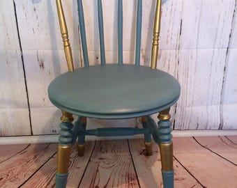 Boudoir Spindle Back Chair