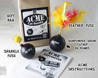 ACME Cat Bombs - Catnip Toy