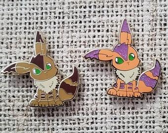 Teto fox squirrel enamel pin castle in the sky / Nausicaa