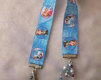 Frozen inspired bookmark