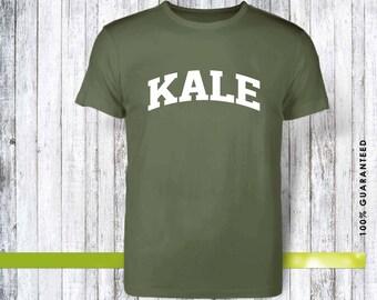 Kale, wedding gift, birthday gift, christmas shirt, gift for christmas, birthday shirt, gift for birthday, kale shirt, kale gift, vegan