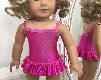 American made Suncatcher Swimsuit  made to fit 18 inch dolls such as American Girl