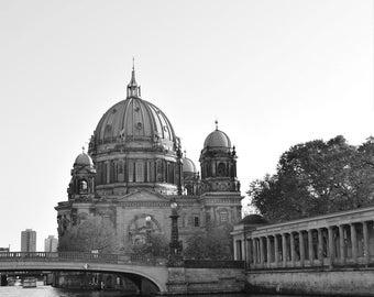 Black & White Postcards of Berlin, Set of 8
