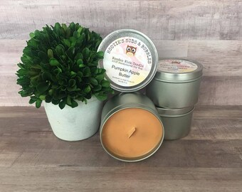 Wood Wick Soy Wax Candle - Pumpkin Apple Butter