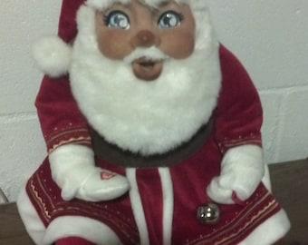OOAK Handsculpted Talking Santa Doll