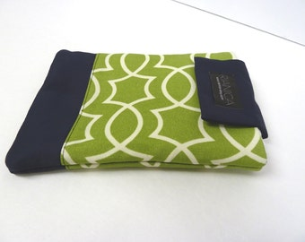 Limegreen Geometric Cotton Ipad Mini cover