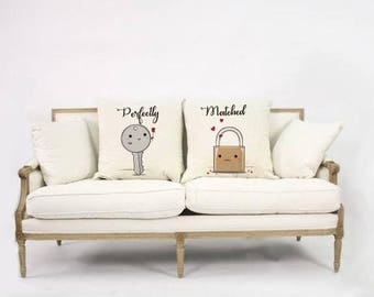 Perfectly Matched Cushion Cover