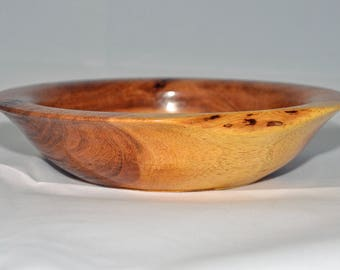 Hand Turned Mesquite Wood Bowl