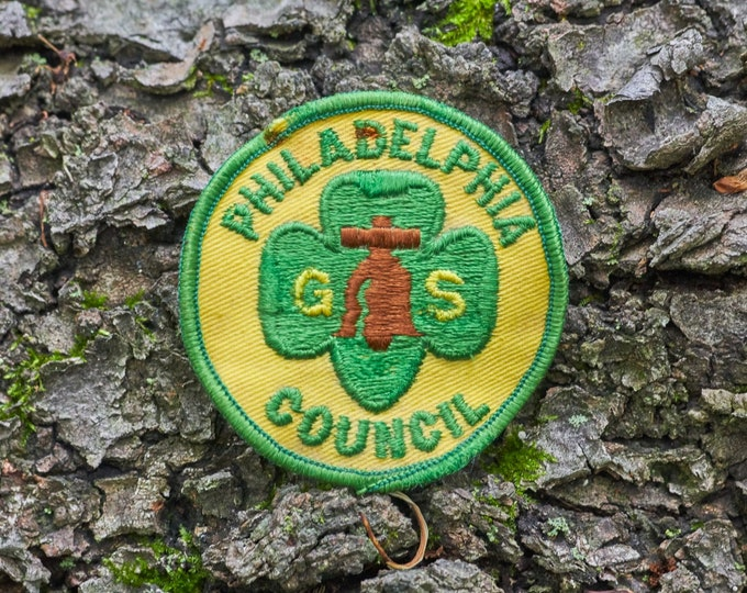 Girl Scouts of America patch from the Philadelphia Council