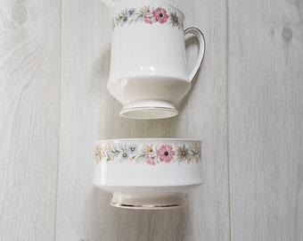 Paragon Belinda Milk Creamer Jug and Sugar Bowl